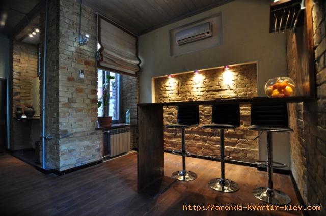 Repair Bedroom In A Loft Style : rental apartments in Kiev : rent 1-bedroom flat in Kyiv loft style ...